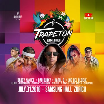 TRAPETON SUMMER BASH SWITZERLAND